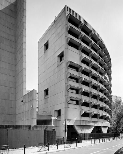 architectureofdoom:  Australian embassy Paris Peter...