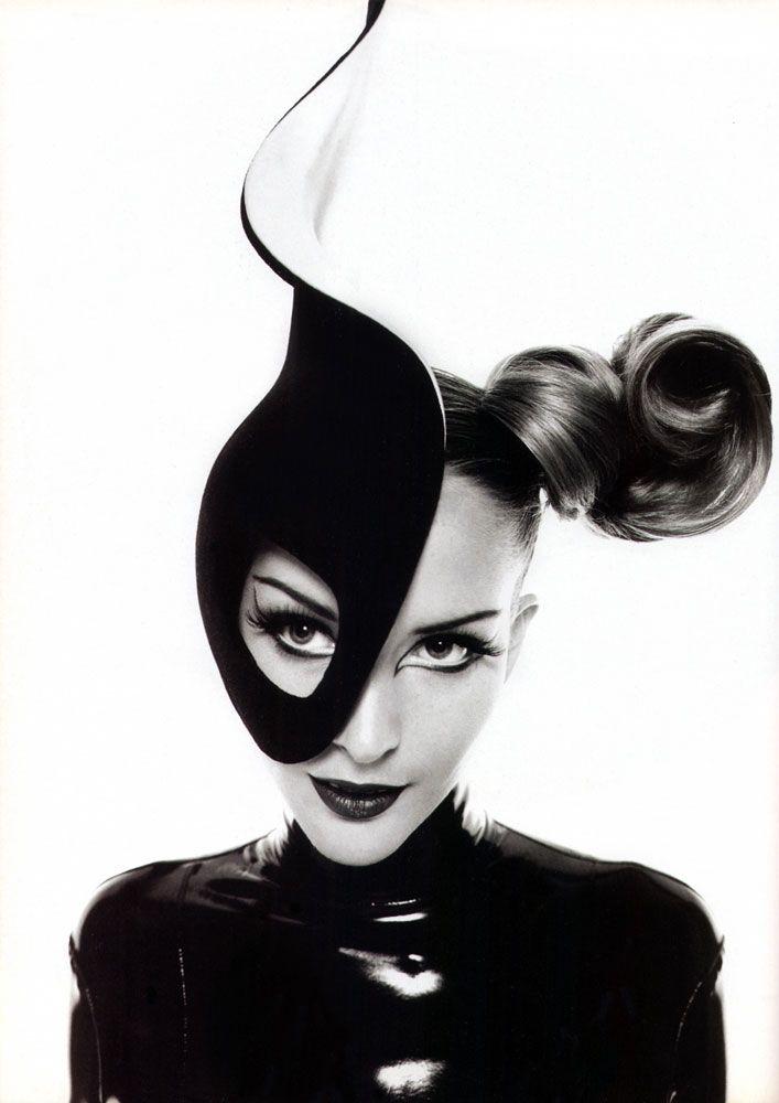 Thierry Mugler, circa 1990's  Model: Georgina Grenville