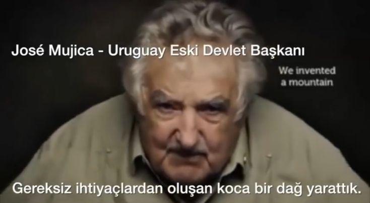 Jose Mujica - Uruguay Eski Devlet Başkanı _ Video : https://youtu.be/nvuCmNWAhSI 🎄