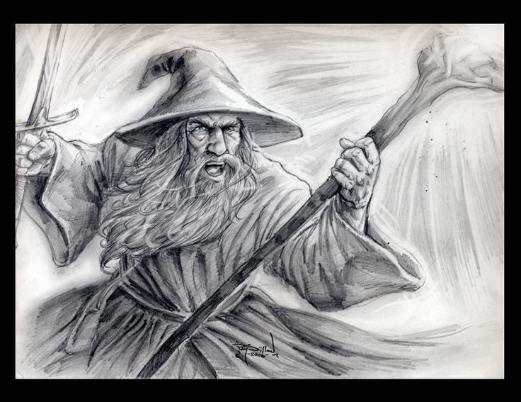 gandalf the gray coloring pages - photo#35