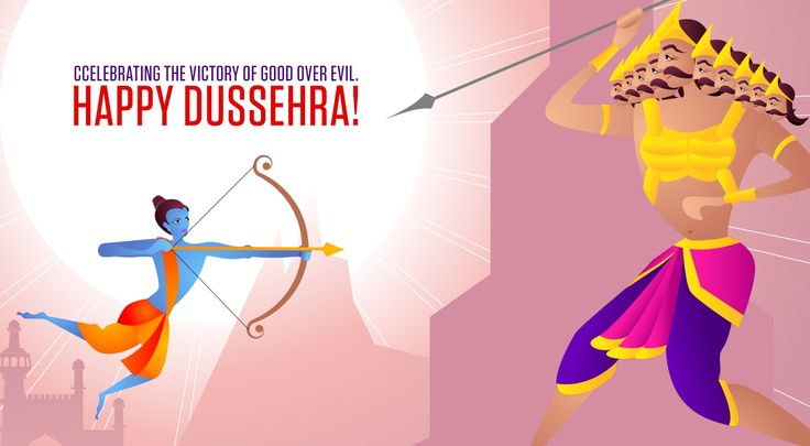 Celebrate the victory of Lord Rama over Ravana. Wish you a very Very #Happy_Dussehra.