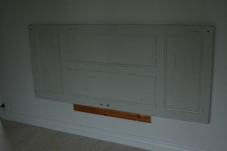 Sänggavel dörr House Pinte
