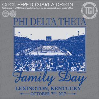 Phi Delta Theta | ΦΔΘ | Family Day | Football | TGI Greek | Greek Apparel | Custom Apparel | Fraternity Tee Shirts | Fraternity T-shirts | Custom T-Shirts