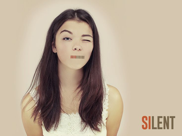 Silent - It's just a funny idea with a girl face and volume control. (photo by Accord Photography)