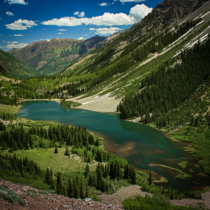 Crater Lake - West Maroon Pass Trail - Aspen, Colorado
