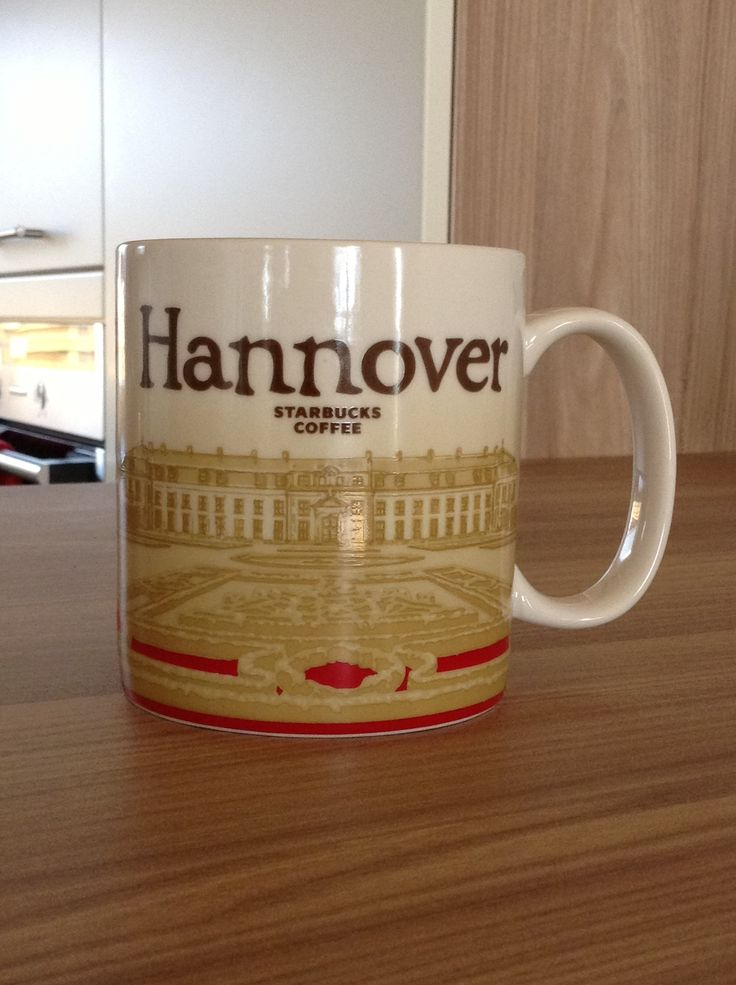 Hannover Starbucks City Mug