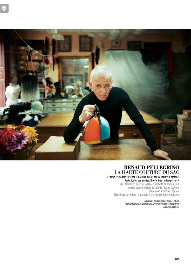 Art Craft LOBA PRODUCTION - Gala magazine - March 2013 // Photo by Patrick Swirc / Fashion by Malika Slimani