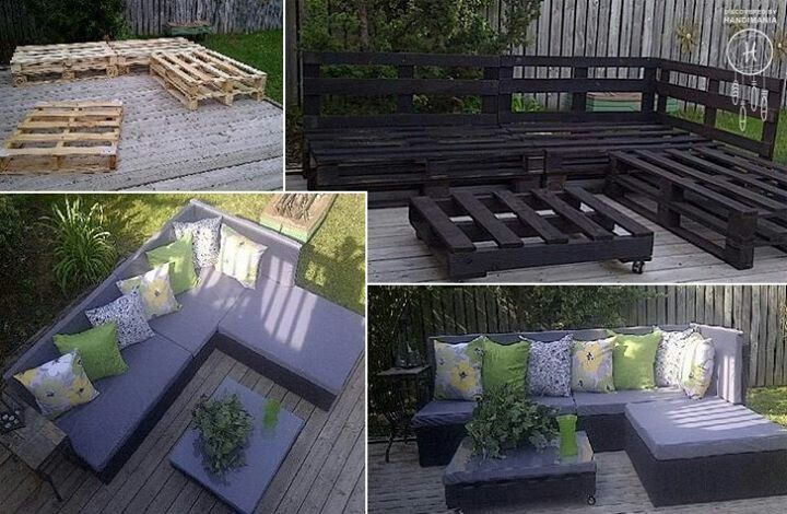 Pallets, this would be SO easy