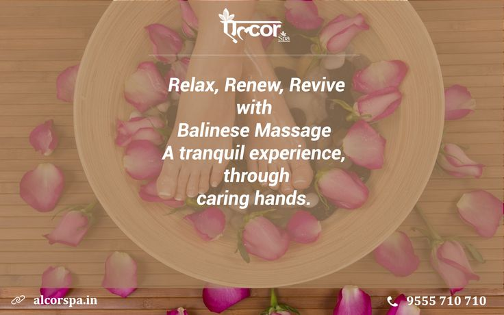 Balinese Massage : A haven for personal healing, growth and discovery For further Enquiry, Feel free to contact: +91-9811005959 Appointments: 9555 710 710 or Visit: http://www.alcorspa.in/book-appointment.html