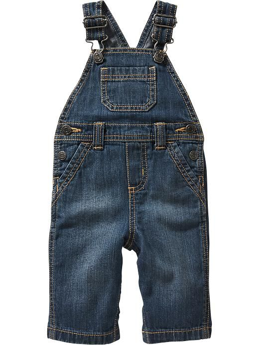 Denim Overalls for Baby Product Image