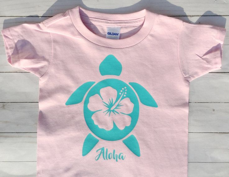 Aloha Toddler Shirt Beach Shirt Sea Turtle Vacation T