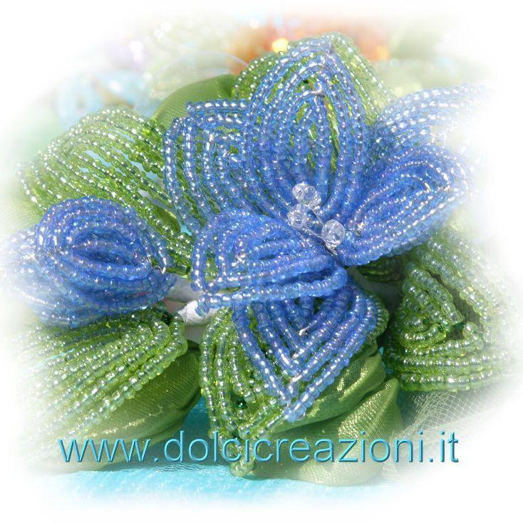 fiori-perline-bomboniere-2.jpg (734×734)