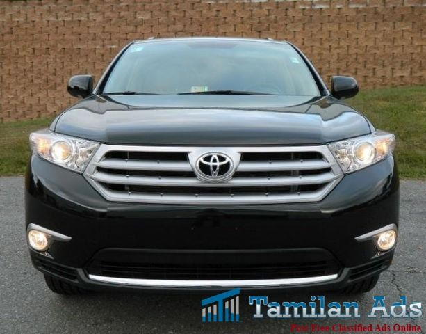 USED 2012 TOYOTA HIGHLANDER SUV FOR SALE - Tamilan Ads