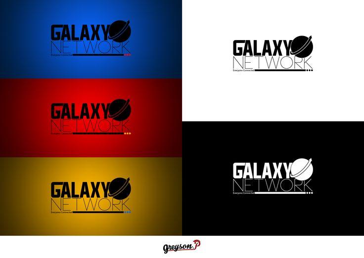 Réalisation d'un logo pour du training work concept [GalaxyNetwork]