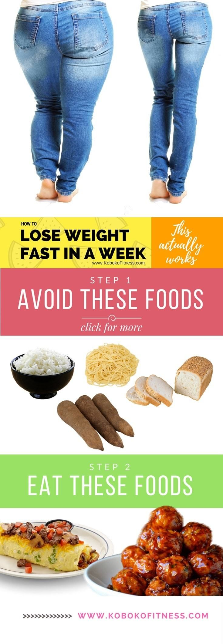 Fat loss diet food plan