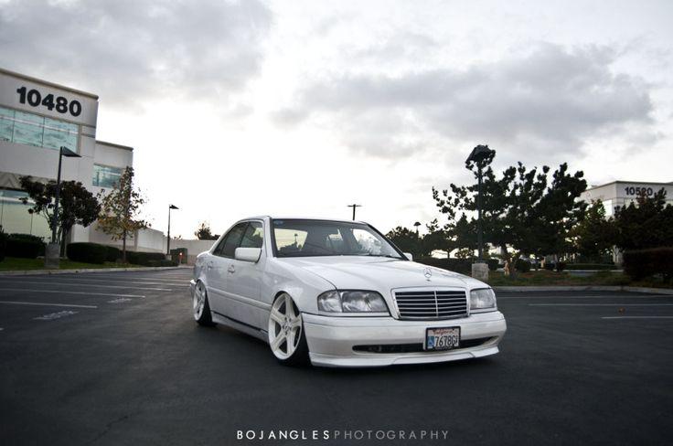BENZTUNING: Mercedes-Benz W202 with CLS wheels