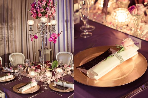 Featuring Bling Napkin Rings Styling - Amini Concepts + Epic Empire | Image - Stewart Ross Photography