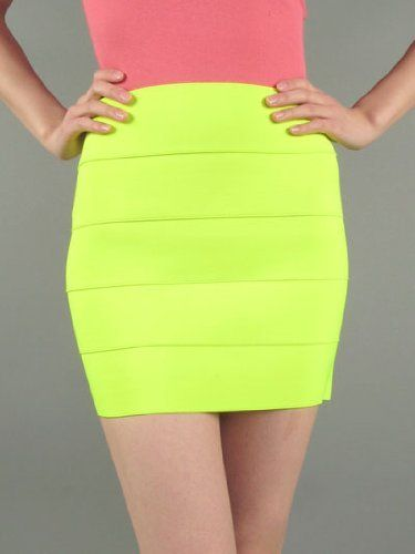 G2 Chic Neon Colored Skirt G2 Chic. $24.88