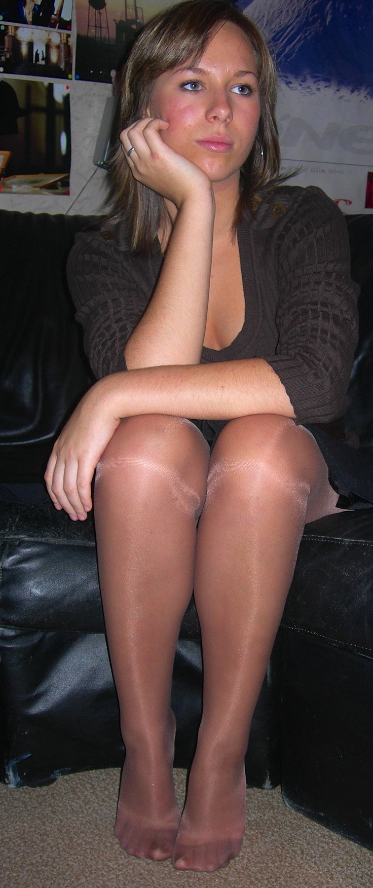 Alcohol in pantyhose