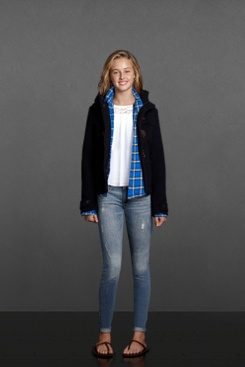 school outfit - abercrombie