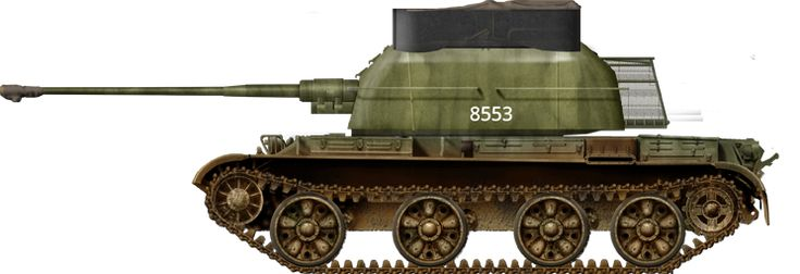 Serbian ZSU-57-2 in the 1990s. These were modified with extra storage acting as armour and fitted with a hard top made of armour plates.