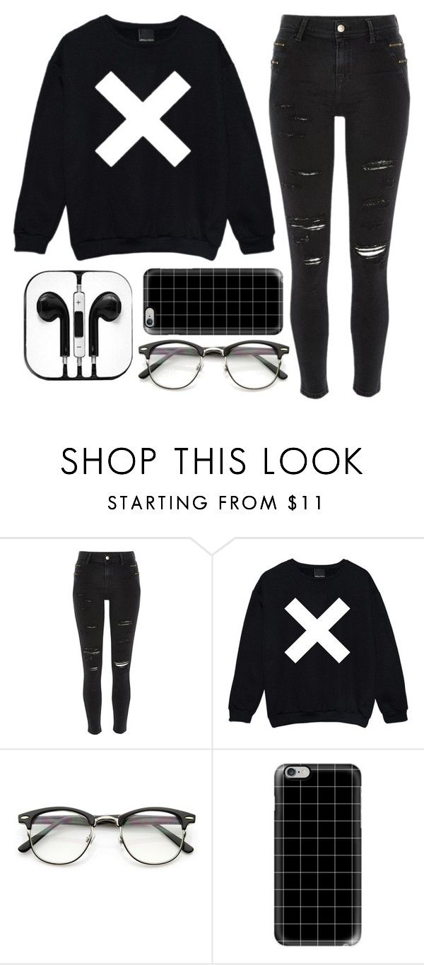 """XX"" by spnlex ❤ liked on Polyvore featuring River Island and Casetify"