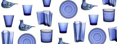 Iittala celebrates Finland's 100th Anniversary with new ultramarine products