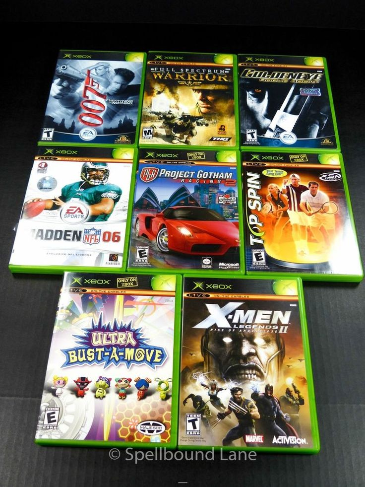 Old Xbox Games Racing Games : Best images about game systems xbox on pinterest the