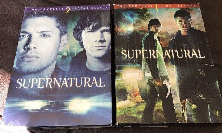 Supernatural Season 1 & 2 DVD Set   | eBay #supernatural #dvd #forsale #4sale #dvdDeals #ebay $10