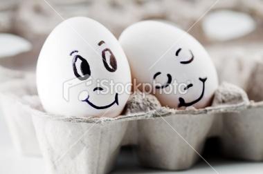 sweet eggs, LOL!