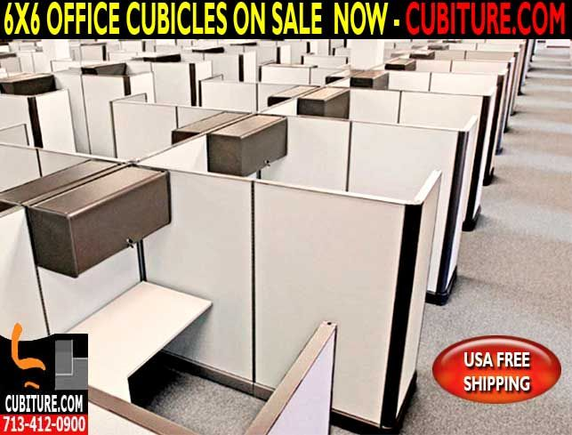 Used 6X6 Cubicles For Sale In Jersey Village Texas
