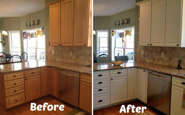 1000 images about diy for the future house on pinterest for Kitchen cupboard makeover before and after