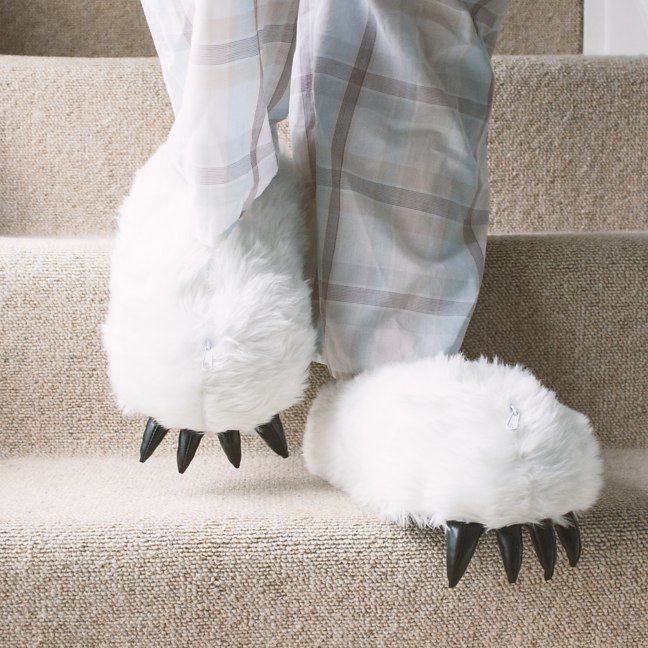 Yeti Heated Slippers from Firebox.com