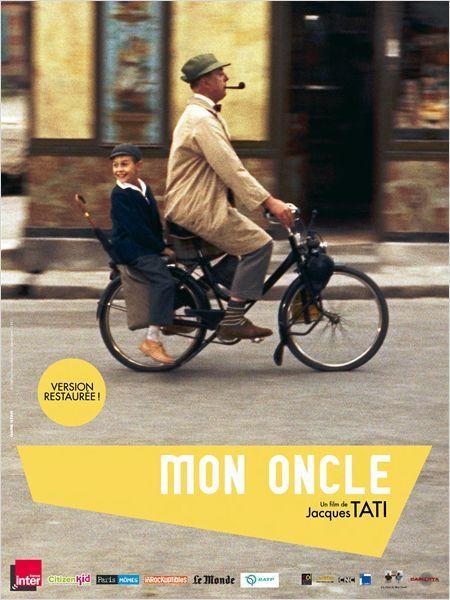 Mon oncle 1958 - Le petit Gérard aime passer du temps avec son oncle, M. Hulot, un personnage rêveur et bohème qui habite un quartier populaire et joyeux de la banlieue parisienne. Ses parents, M. et Mme Arpel, résident quant à eux dans une villa moderne et luxueuse, où ils mènent une existence monotone et aseptisée. Un jour que Gérard rentre d'une énième virée avec son oncle,