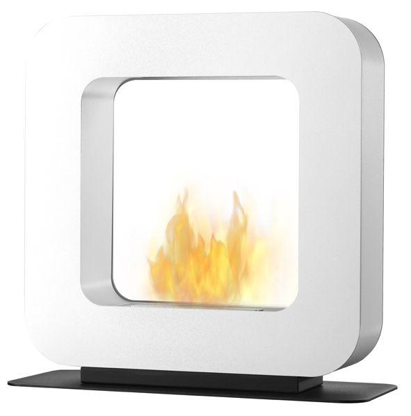 Curva ST Wit Safretti Fireplace Collection - #Fireplace #InteriorDesign #Fire #Safretti