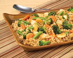 Make Chicken Teriyaki Stir-Fry in a skillet.