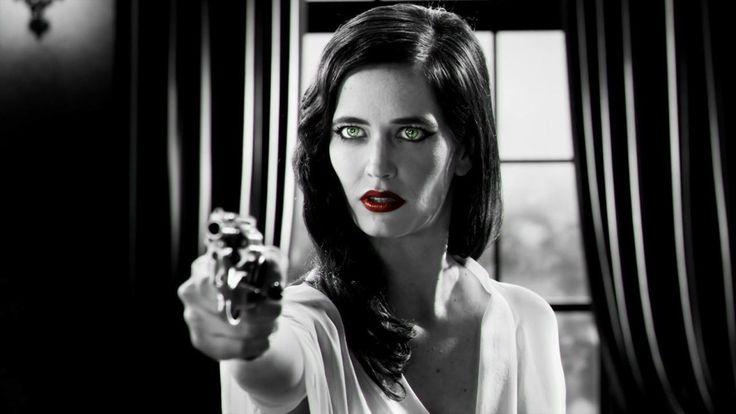 Red Queen Inspiration - Eva Green in Sin City