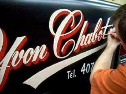 Hot-Rod Lettering The Old School Way! | Lettering ...