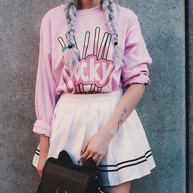 Kawaii pocky jumper design by @kokonara89 @kokopie_shop @nekomatahime