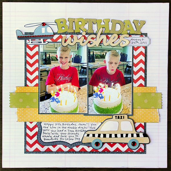 Boy Layouts Images On Pinterest