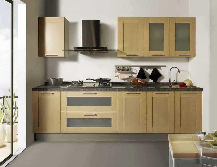 cool Desain Dapur Kecil Yang Mewah Dan Elegan
