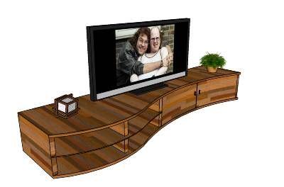 tv cabinet idea for our corner
