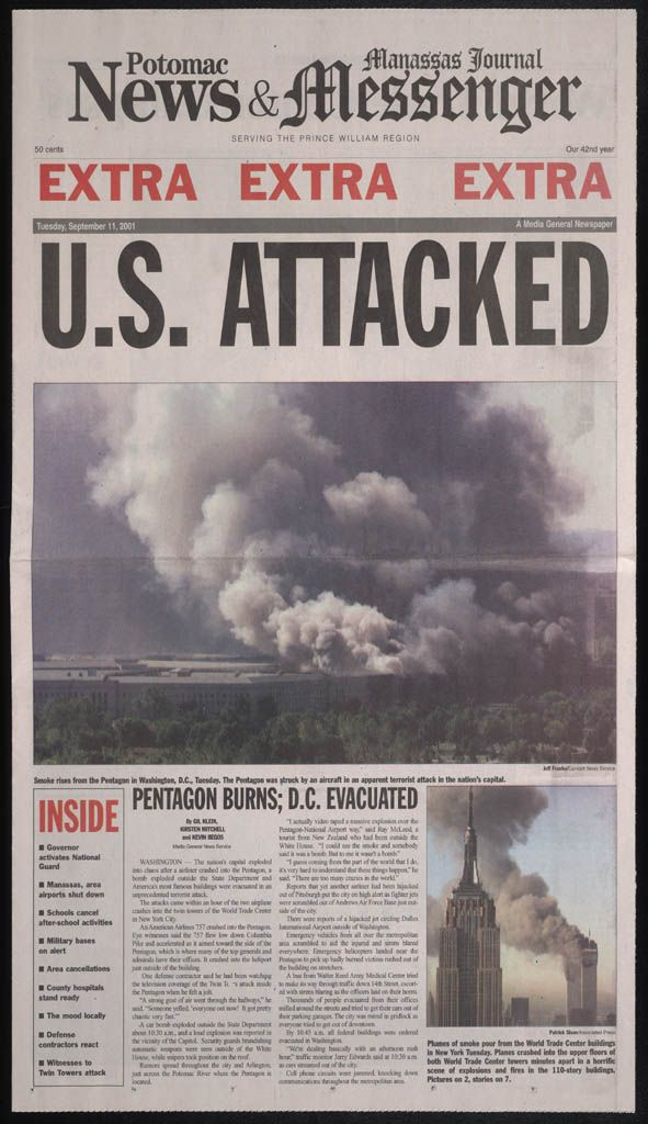 Planes hit the twin towers of the World Trade Center on September 11, 2001, as part of a coordinated terrorist attack. Description from pinterest.com. I searched for this on bing.com/images