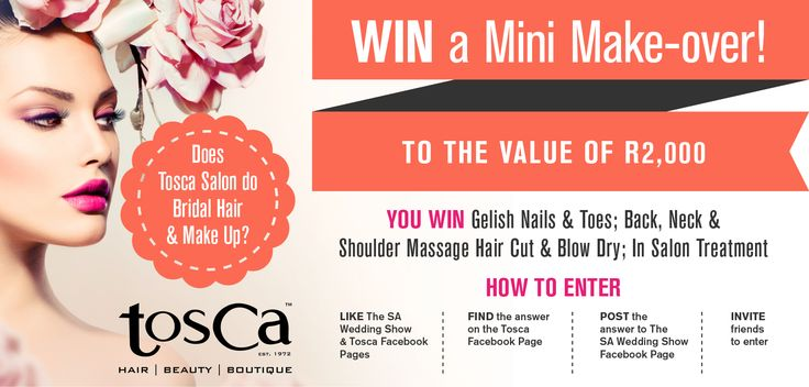 For more information on how to enter  and T's and C's - www.facebook.com/thesaweddingshow
