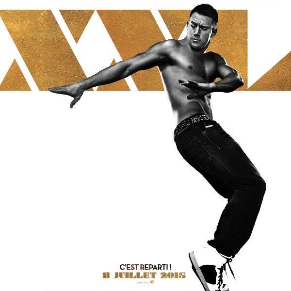 Channing Tatum s'affiche pour Magic Mike XXL