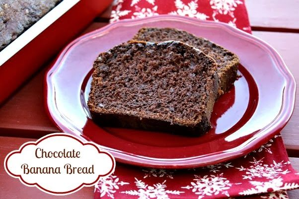 Mommy's Kitchen - Country Cooking & Family Friendly Recipes: Chocolate Banana Bread