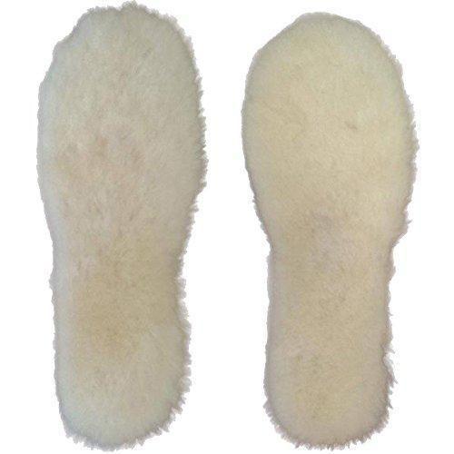 Oferta: 19.99€ Dto: -50%. Comprar Ofertas de WARMIE piel de oveja australiana Super gruesa Premium plantillas | Durable y Extrasuaves (EU 40, Blanco) barato. ¡Mira las ofertas!