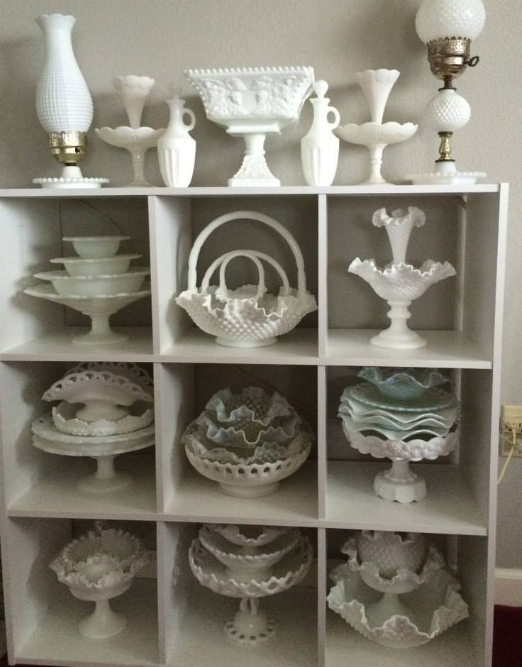 I have a group on FB called I Love Milk Glass. Join us for the fun!