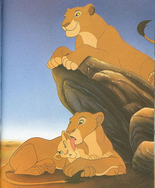 Sarabi, Sarafina & Nala From Disney's The Lion King