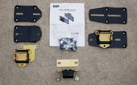 We give you some LS engine swap tips by using Classic Performance Products Adjustable LS motor mounts.